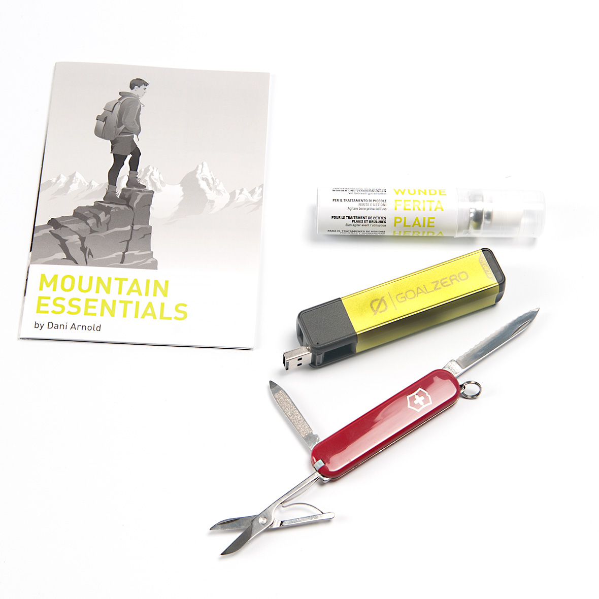 Mountain Essentials by Dani Arnold, SAC