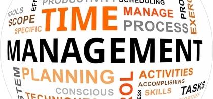 1. time management