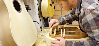 Musical instrument builder