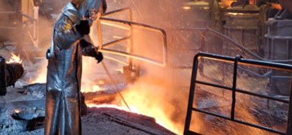 Blast furnace operator