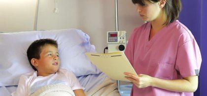 570040465 hospital bed pediatrician notebook notepad medical examination medicine