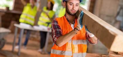 Construction worker laborer