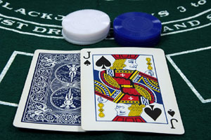Blackjack strategi: bordvalg