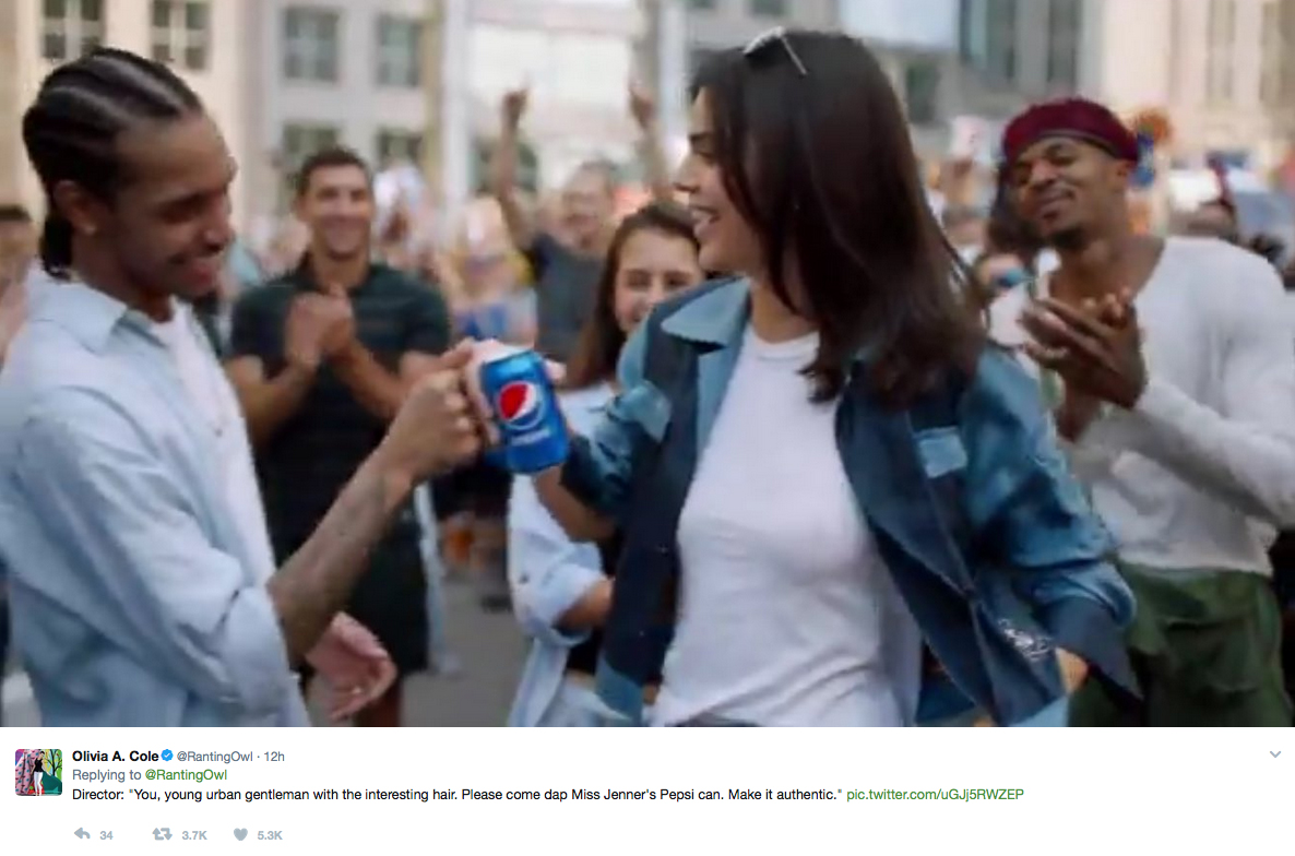 Why Pepsis Ad Campaign Starring Kendall Jenner Is So Tone-Deaf