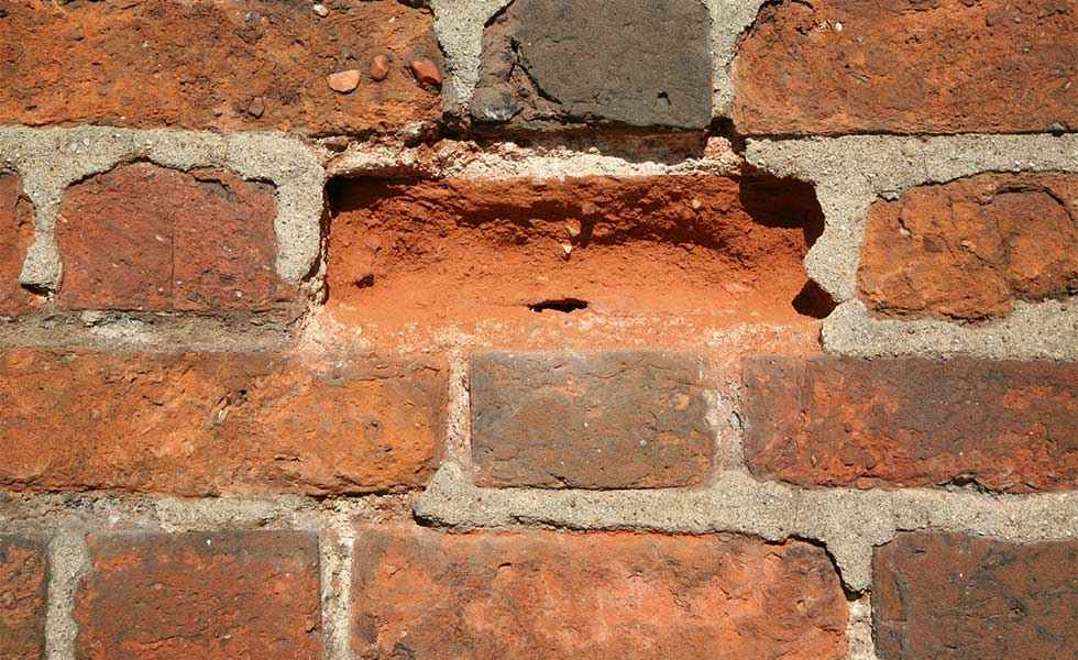 How to Replace a Damaged Brick photo