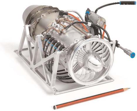 Tiny power: Bladon Jet's micro-gas turbine