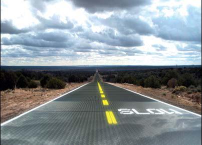 Sun street: solar road