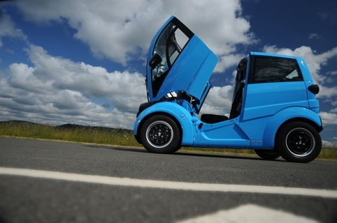 Gordon Murray's T27, the electric version of his T25 city car