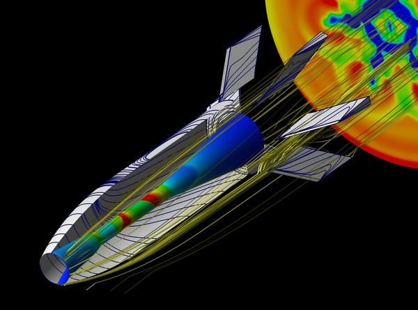 Computation Fluid Dynamic (CFD) modeling of SCRAMSPACE I