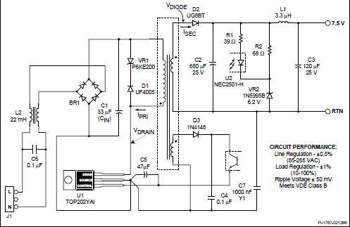 Для повышения надежности работы иэп можно рекомендовать параллельно резисторам r7 и r8 (см рис 5) подключить дроссели индуктивностью по 4 мкгн