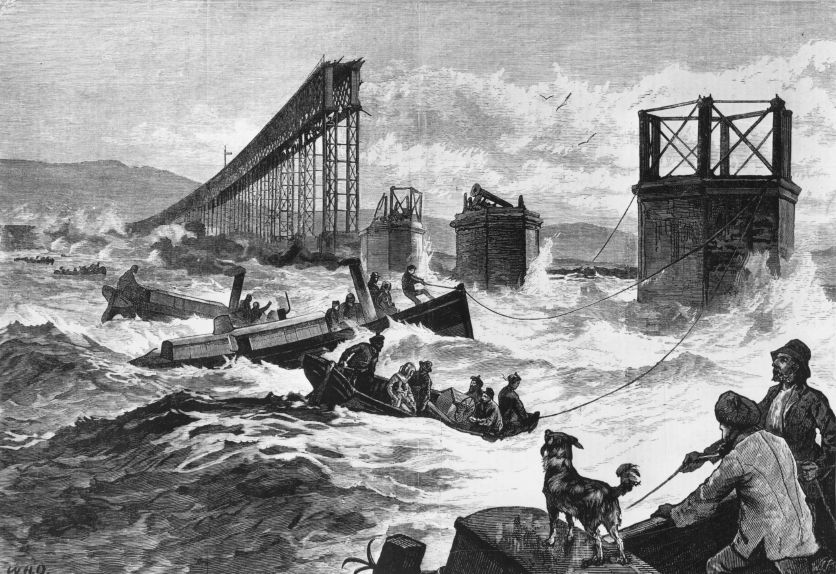 the tay bridge disaster engineering essay View of river dee bridge disaster site in etching from illustrated london news,   the collapse of thomas bouch's tay bridge in 1879 was.