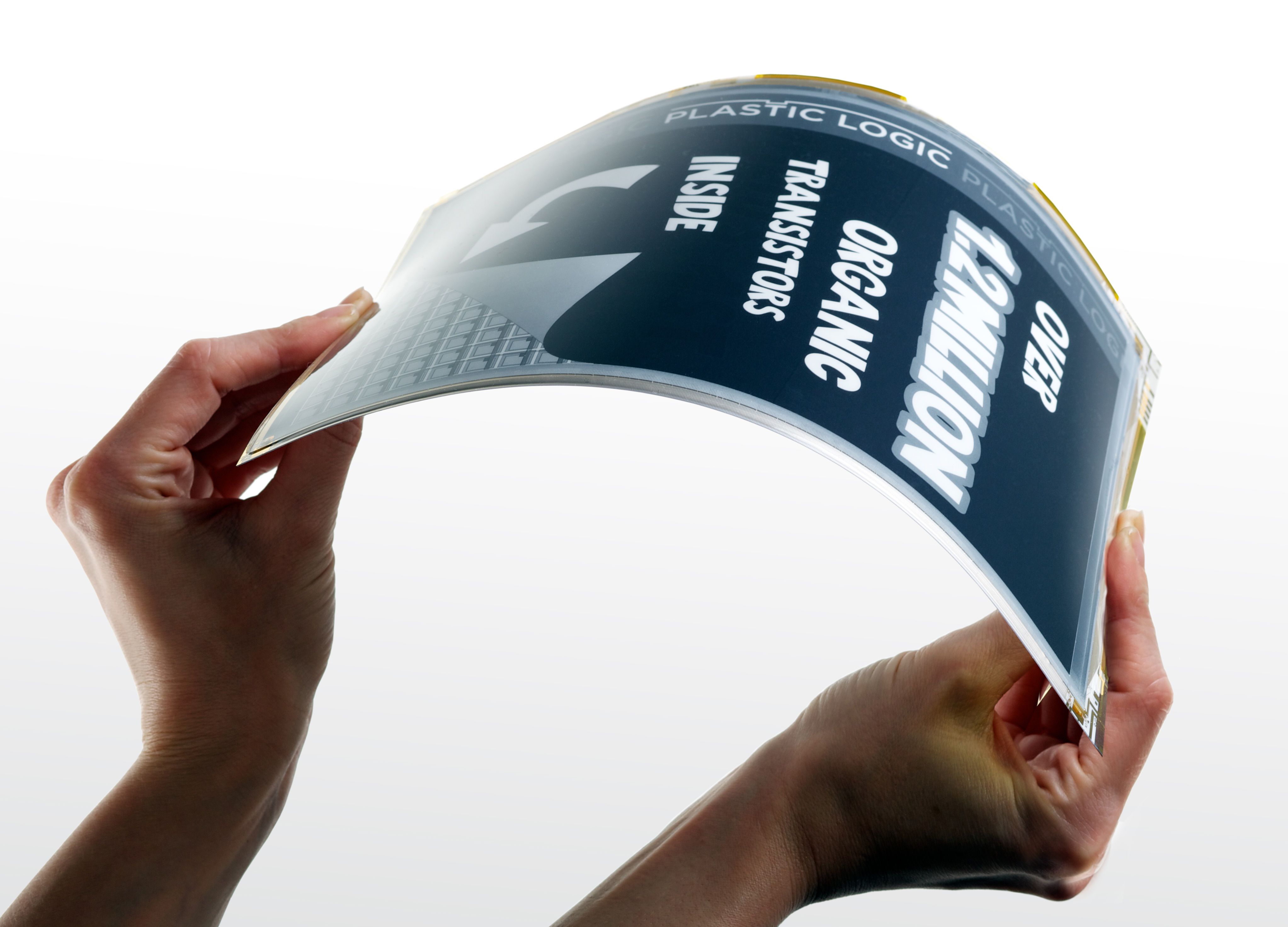 Plastic Logic - founded by Hauser - recently unveiled a flexible tablet computer designed with Intel