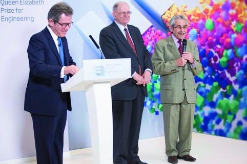 Queen Elizabeth Prize for Engineering winner announcement.