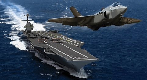 Due to enter service in 2015, the USS Gerald Ford will be the first carrier to feature an electromagnetic launch system