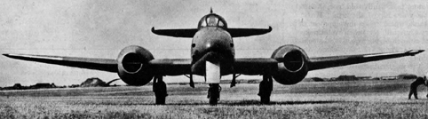 The Meteor set a world speed record of 606mph in November 1945