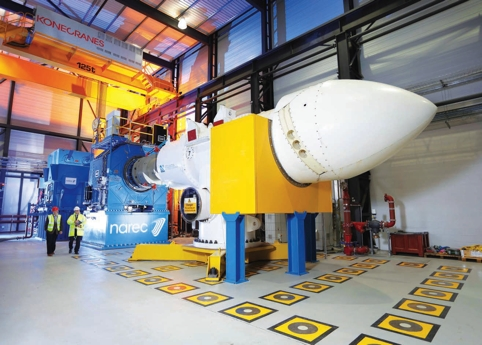 The National Renewable Energy Centre (Narec) has developed the world's first drive-train test area dedicated to marine renewables