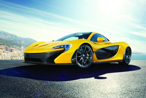 With the petrol engine the McLaren P1 accelerates from 0 to 300km/h in under 17 seconds