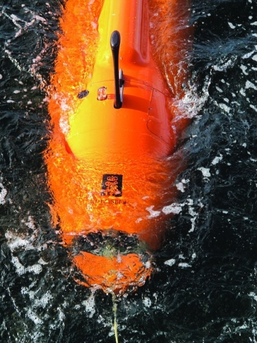 Kongsberg's Hugin is one of the most popular deep water AUVs