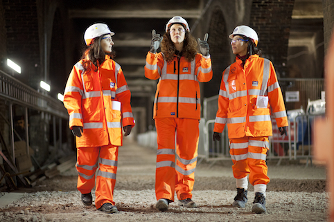 Farringdon project manager Nisrine Chartouny (Centre)