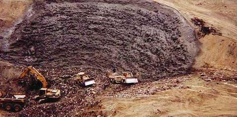 As some resources become scarce landfill mining is gaining in popularity