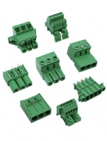 PCB signal and power terminal blocks