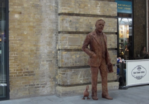 gresley statue