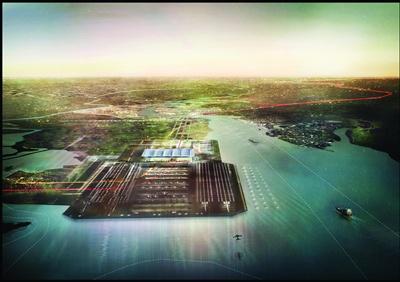 Estuary airport