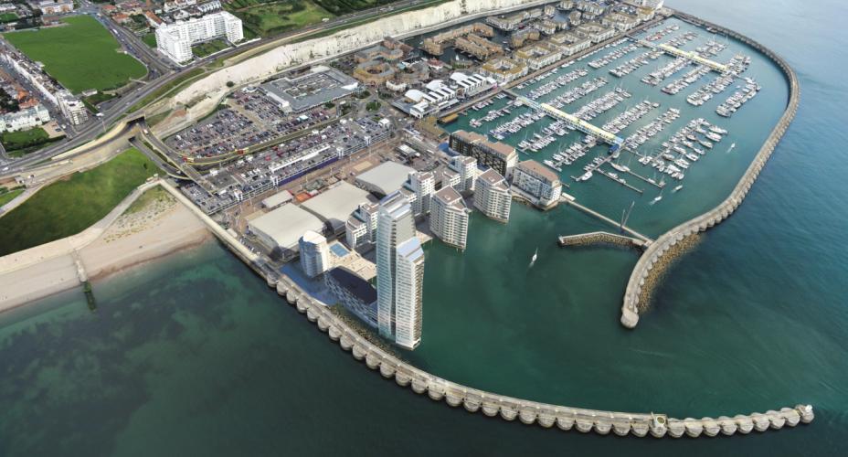 Brighton Marina redevelopment