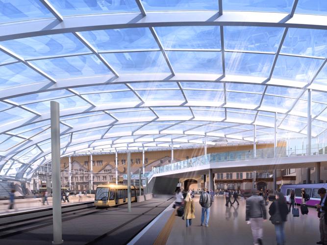 Manchester Victoria station upgrade