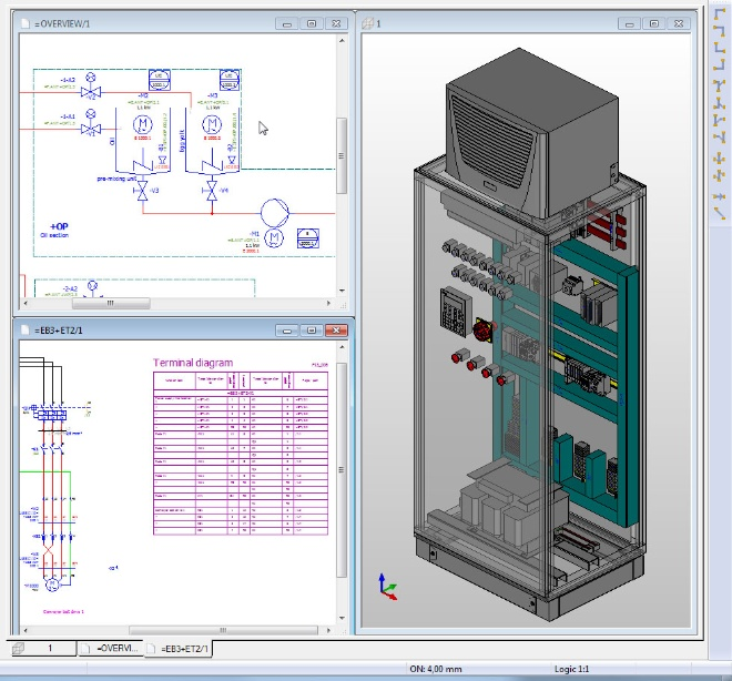 Eplan Releases Pro Panel For 3d Engineering Of Control Panels And Switchgear Systems The