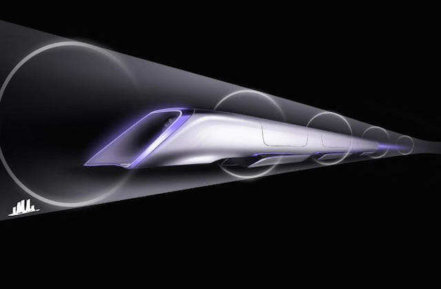 The Hyperloop concept is based around individual pods running in sealed tubes