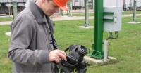 Czech company uses FLIR GF306 optical gas imaging to check for SF6 leaks