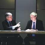 (l-r) Scott and Willis: forward thinking