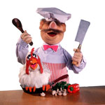 No one can accuse Pinsents' chef  of being a muppet