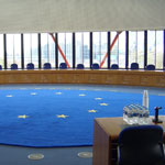 Court room of the ECHR