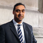 Pershad QC: guilty of not paying VAT bill