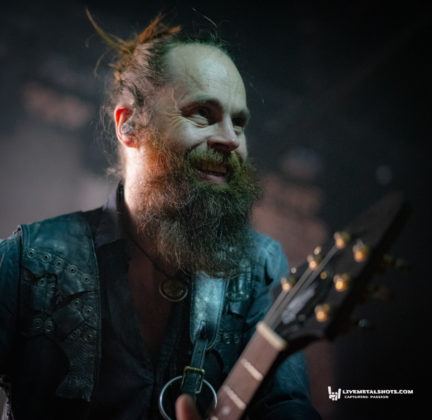 Picture of Sólstafir in concert by music photographer Burak Baban