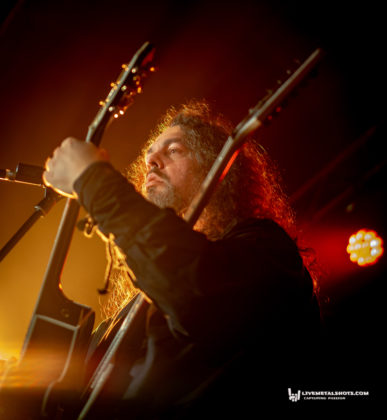 Picture of Haggard in concert by music photographer Burak Baban