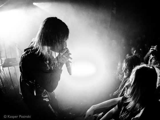 Picture of the Ghostemane gig by Kasper Pasinski