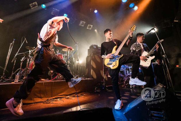 Picture of Paledusk in concert by Aki Fujita Taguchi