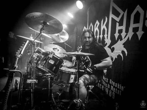 Picture of the DarkPhase concert with photography by Kaan Kocakoglu