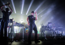 Picture of Rudimental concert with photography by Danni Fro
