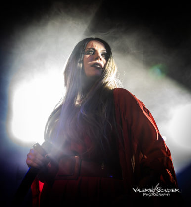 Picture of Cristina Scabbia & Lacuna Coil with German concert photography by Valerie Schuster