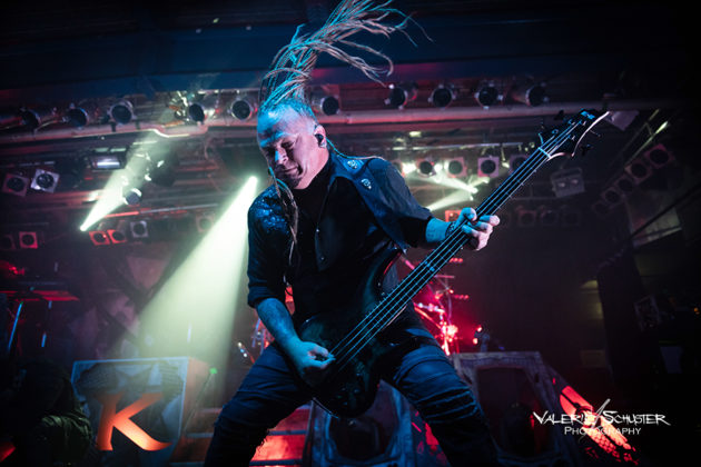 Sean Tibbetts & Kamelot with German concert photography by Valerie Schuster