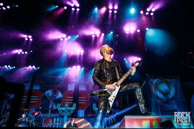 Picture of Judas Priest with concert pictures by Stan Srebar