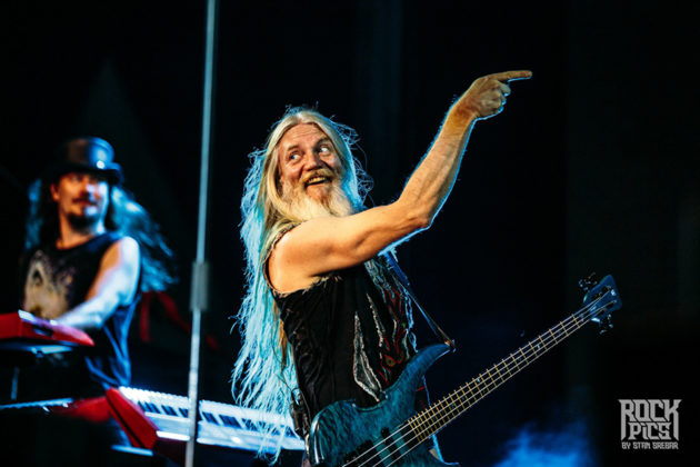 Picture of Nightwish in concert with Symphonic Metal music photography by Stan Srebar