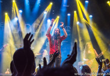 Picture of Voodoo Vegas in concert with Rock band photography by Johan Sonneveld