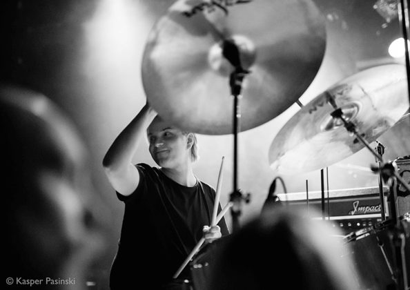 Picture of Nyos in concert with Hard Rock music photography by Kasper Pasinski