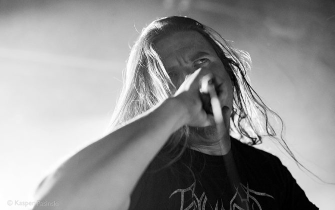 Picture of Cryptopsy in concert with Extreme Death metal photography by Kasper Pasinski