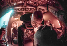 Picture of Aborted in concert with death metal band photography by Kasper Pasinski